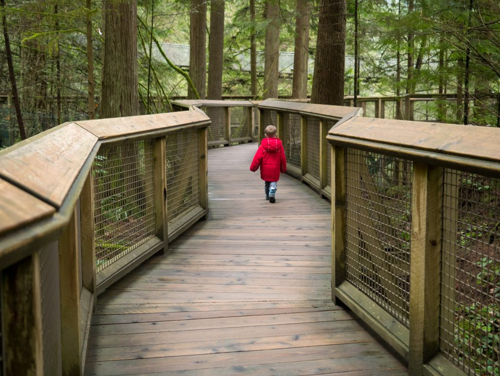 Visiting The Capilano Suspension Bridge Park In North