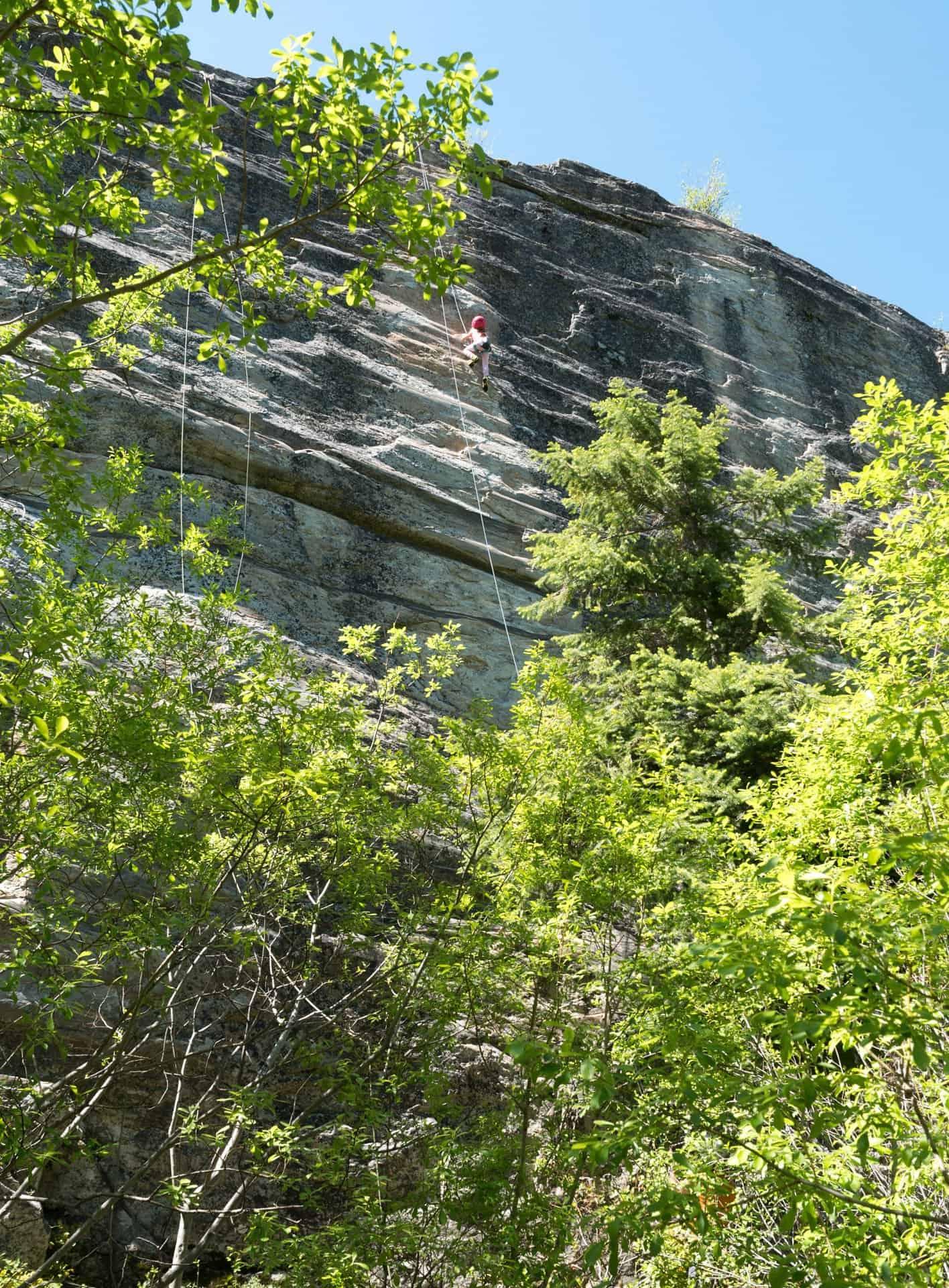 Rock Climbing With Kids At Skaha Bluffs Provincial Park