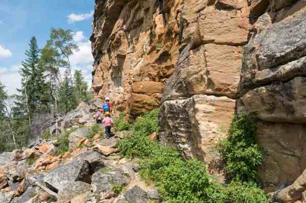 Rock Climbing With Kids In Jasper National Park Ab Backwoods Mama