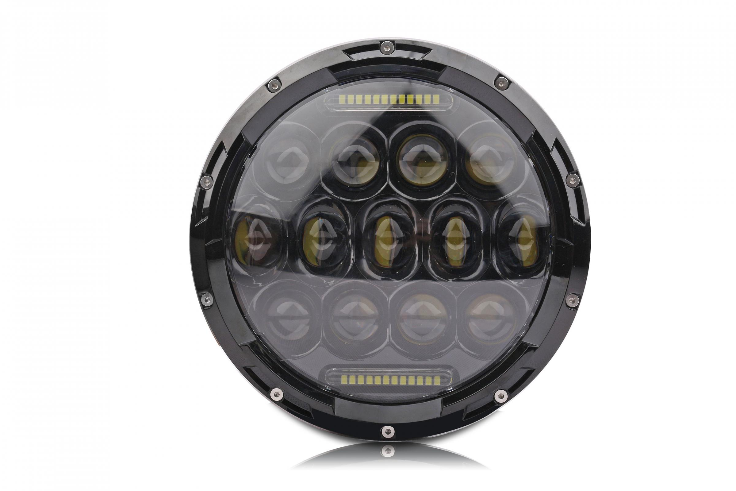 7 Inch Round LED Headlight 75 Watt Lifetime LED Lights Images