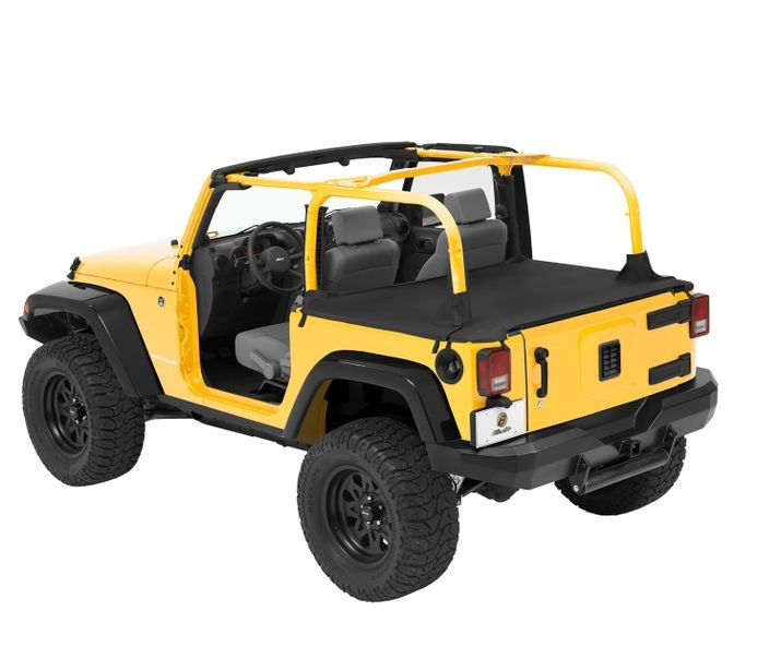 Jeep JK Unlimited Duster Deck Cover W/Soft Top Hdwe Removed 07 17 JK