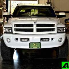 Light Bar 3 Way Switch Wiring Diagram Multiple Lights Power At Dodge Ram 1500 2500 Led Roof Mount For 52 Inch Curved 94