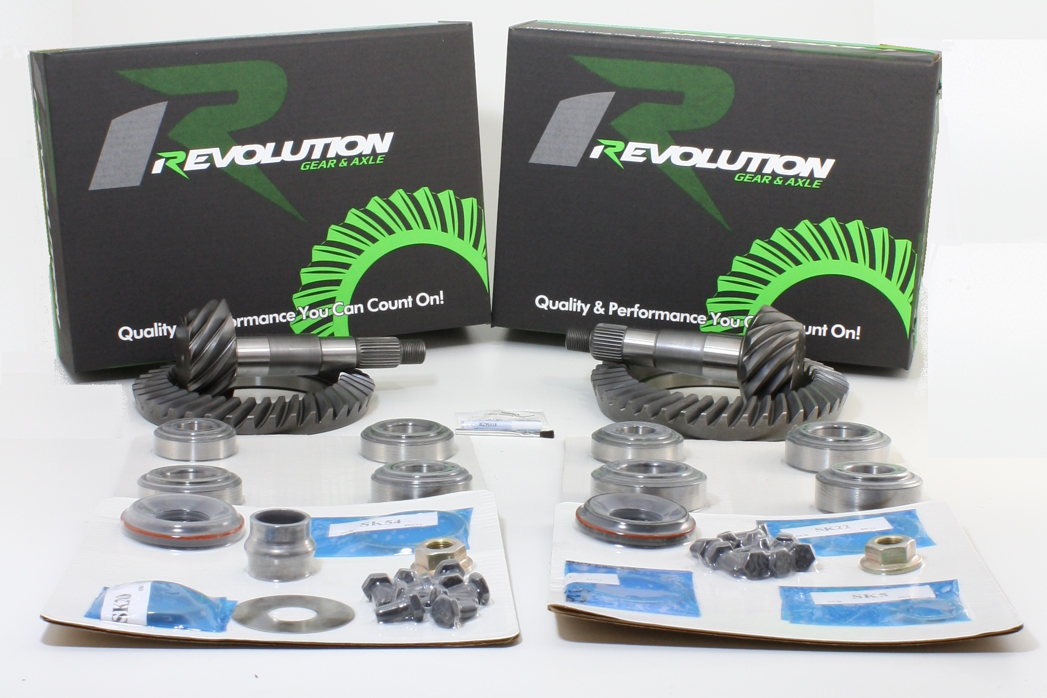 Toyota Tunda 07 and Up w/ 4.6L or 4.7L 4.88 Gear Package Front and Rear Gears and Master Kits Revolution Gear
