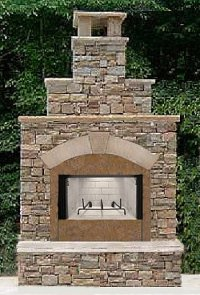 An Outdoor Fireplace Is the Best Way to Make Your Backyard ...