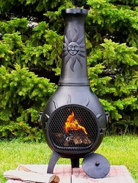 Chimineas Are Great Options for Your Outdoor Fireplace