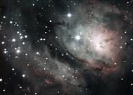 The Lagoon Nebula M8 @ 300sec exposure rate Meade DSI