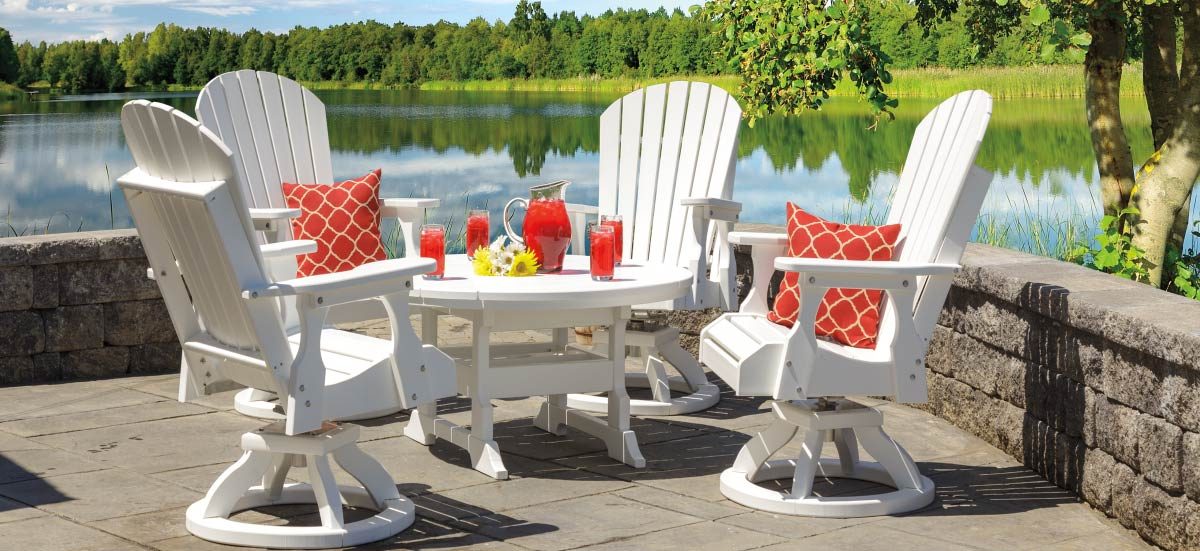 casual furniture patio dining sets poly