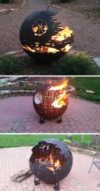 Star Wars Inspired Death Star Fire Pits