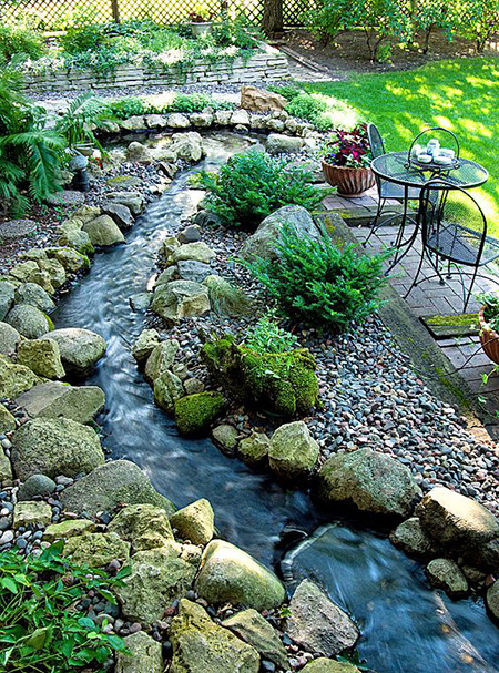 Artificial Pond Garden