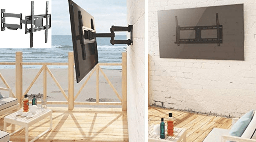 how to mount a tv outside on your siding
