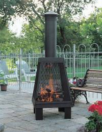 The gallery for --> Outdoor Metal Fireplace