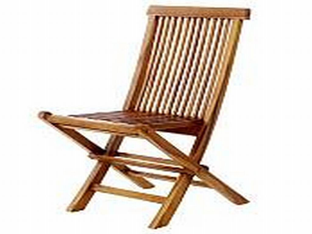 Teak Folding Chair  TF22