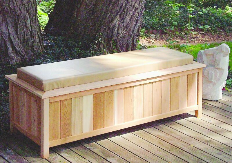 Woodwork Patio Storage Bench Plans PDF Plans