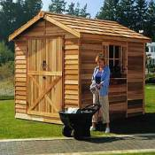Rancher Storage Shed - 8 x 10