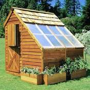 Cedar Greenhouse Kit 8x8