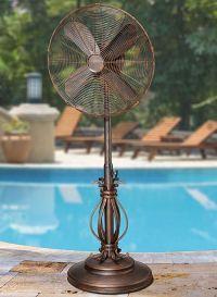 Prestigious Outdoor Pedestal Fan - by DecoBreeze - DBF1080