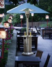 Elegant restaurant patio heaters as inspiration and tips ...
