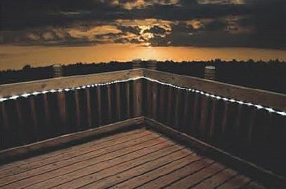 Flipo Solar Powered LED Rope Lights  100 LEDs