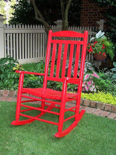 Slat Back Rocking Chair  OFRF