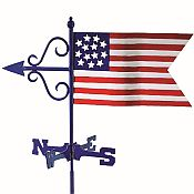 American Flag Weathervane