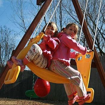 Back to Back Glider Swing