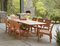 Eucalyptus Wood Outdoor Furniture | at the galleria