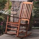 Eucalyptus Porch Rocker