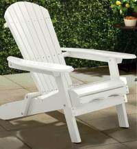Painted Simple Adirondack Chair - MPG-AC01WP