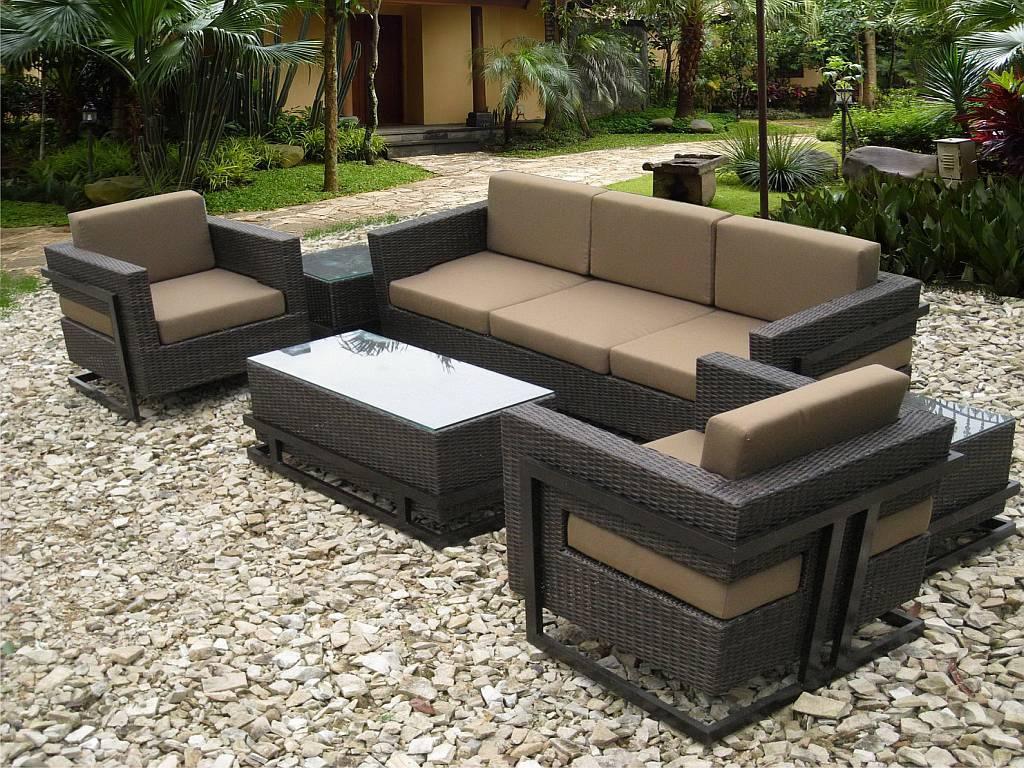 Resin Wicker Outdoor Furniture