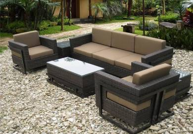 Luxury Patio Furniture Modern Outdoor Wicker Furniture