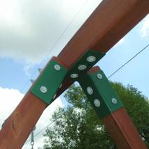Frame Bracket Wood 4x6 Beam 4x4 Legs - Replacement