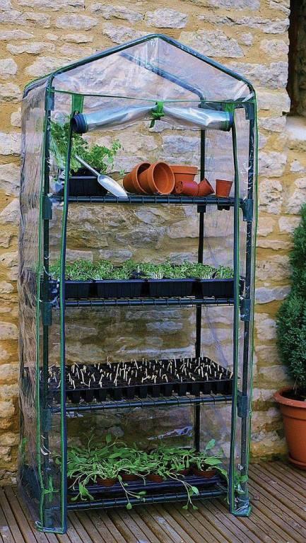 4 Tier Mini Greenhouse  R687