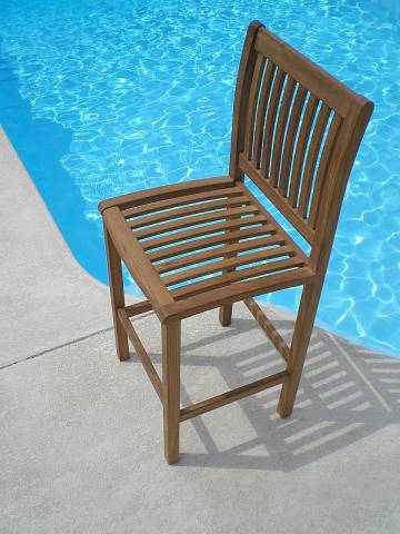 Outdoor Pool Side Wood Furniture