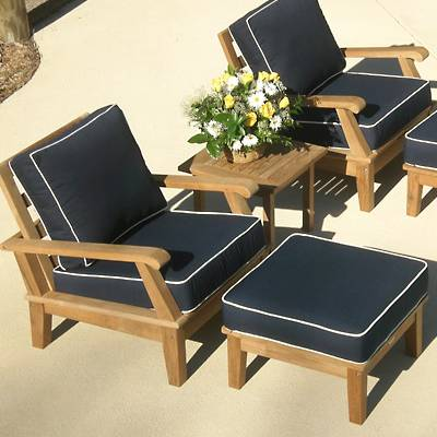 garden oasis patio chairs luxury spa chair furniture accent for living room on teak miami with ottoman