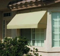 Classic Retractable Canvas Window Awning -8ft. Relacement ...