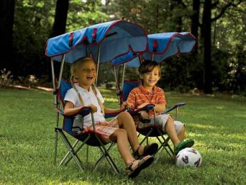 Kids Chair with Shade Canopy