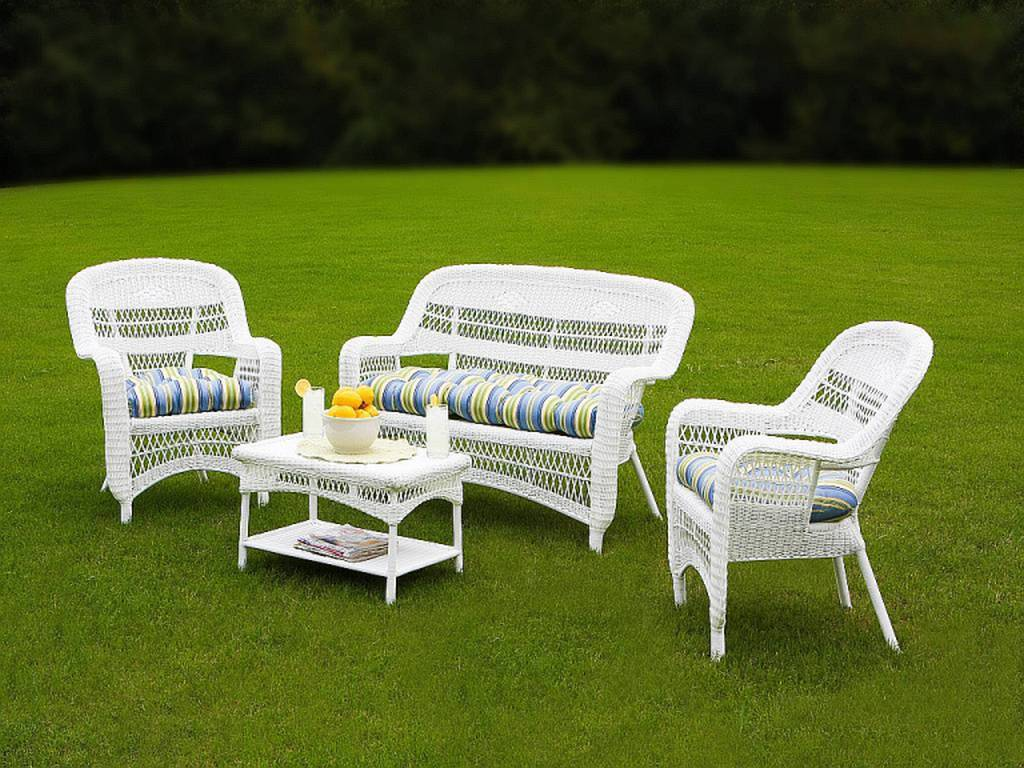 wicker porch chairs lounge chair umbrella tortuga portside coastal white conversation set