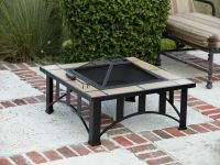 Tuscan Tile Mission Style Square Fire Pit - 60243