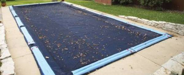 Winter Pool Cover Blue