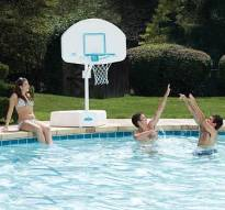 Pool Basketball Game