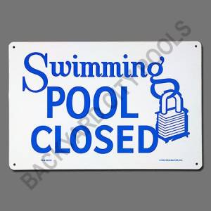 New Pool Signs for Safety, Humor, and Practicality ...