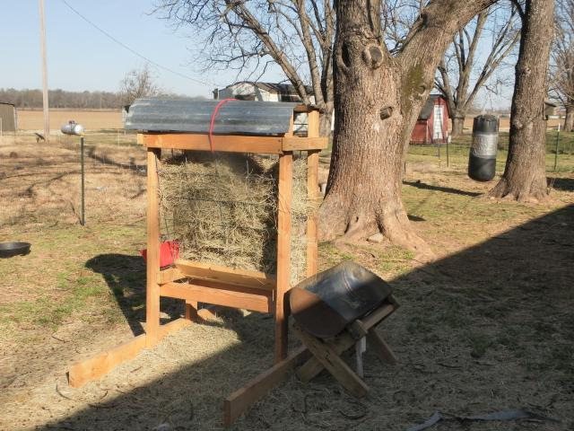 Homemade goat hay feeders myideasbedroom com
