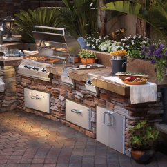 Backyard Kitchens Kitchen Island With Stainless Steel Top Planning Your Luxury Mamma Previous Next