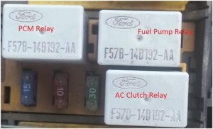 Amp Meter Wiring Diagram For Chevy Ford Taurus Sable Fuel Trouble Shooting 1996 To 1999