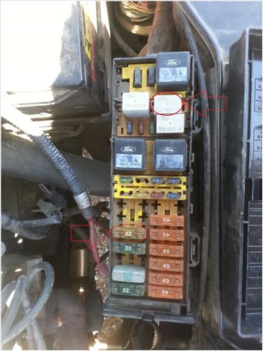 Fuse Box Diagram Ford Taurus Sable Fuel Trouble Shooting 1996 To 1999