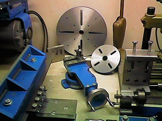 Make Lathe Milling Attachment