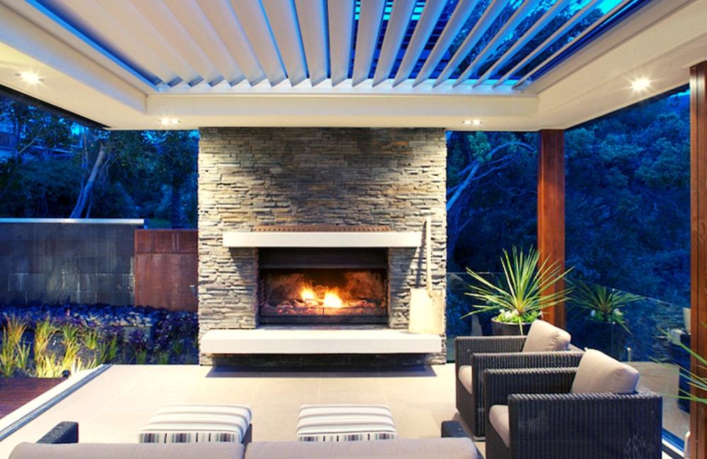 luxury aluminum louvered patio covers