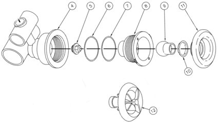 Hot Spring 1991-1996 directional style jets, related parts