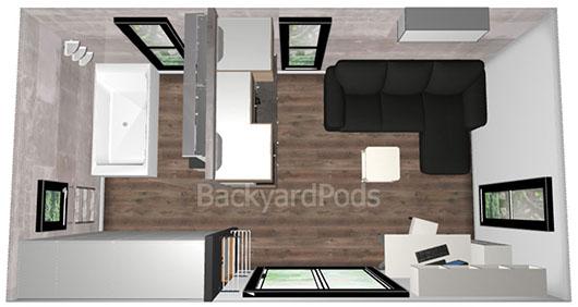 Backyard Pods Cabins Studios Granny Flats DIY Kits
