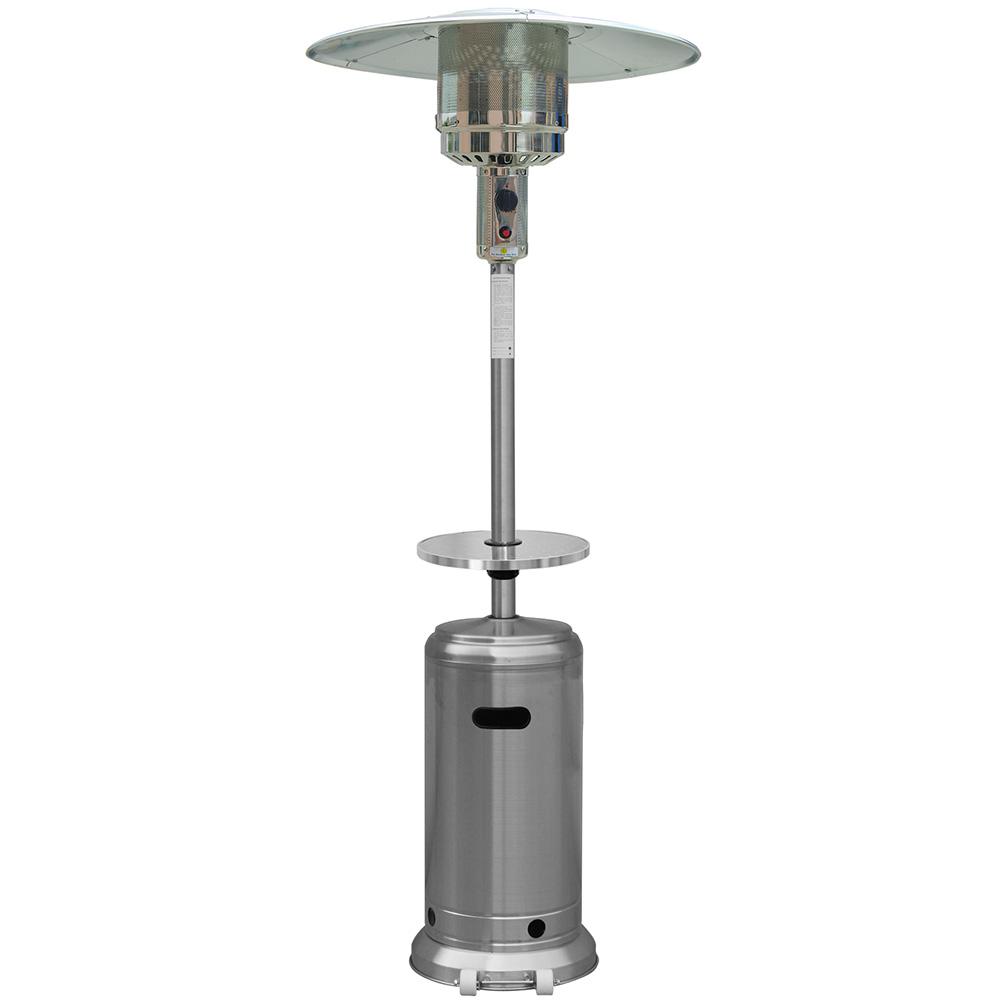 AZ Patio Heaters Outdoor Patio Heater in Stainless Steel
